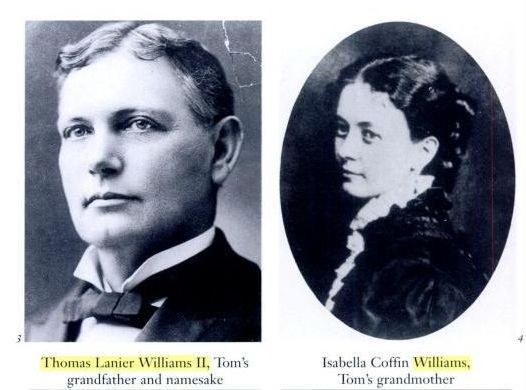 Williams' grandparents