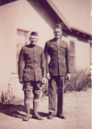 Herman Cunningham and Alvin Cunningham, 1942?