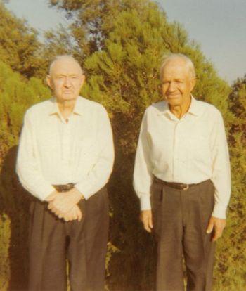 John Roy McCreavy and Herman Cunningham, circa 1966-1975