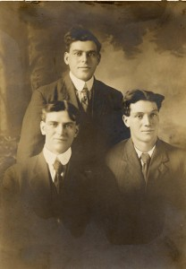 Omar, John, and Earl Gearhart