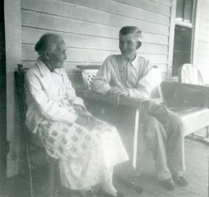 Amos Blakey Cunningham and Cadelia Elizabeth Cunningham Burkhalter