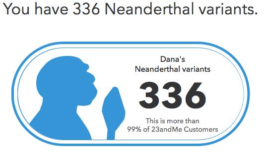Neanderthal DNA